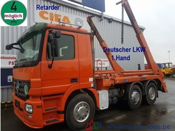 Портальный бункеровоз Mercedes-Benz 2546 Hüffermann Tele Deutscher LKW 1.Hd Retarder