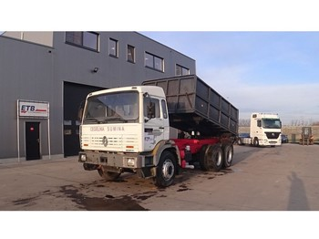 Renault G 300 Manager (GRAND PONT / SUSPENSION LAMES / POMPE MANUELLE) - самосвал