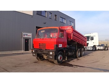 Tatra T 815 (BIG AXLE / FULL STEEL SUSPENSION / MANUAL PUMP / 10 TIRES) - самосвал