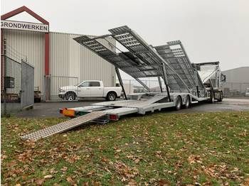 Aksoylu Car transporter 6 Loader extendable on stock - полуприцеп-автовоз