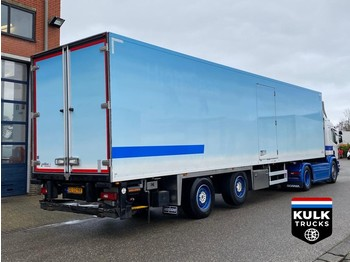 Chereau S2332H / CITY FRIGO / THERMO KING 300 TAIL LIFT / STEERING AXLE - полуприцеп-рефрижератор