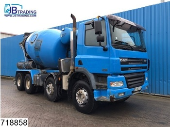 Бетономешалка DAF 85 CF 340 8x4, Stetter, Beton / Concrete mixer, Manual, Steel suspension, Airco