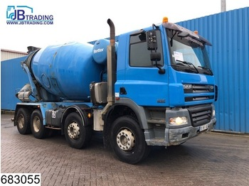 Бетономешалка DAF 85 CF 340 8x4, Stetter, Beton / Concrete mixer, Manual, Steel suspension, Airco, Analoge tachograaf