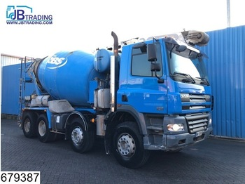 Бетономешалка DAF 85 CF 340 8x4, Theam 16 mtr Belt, Stetter, Beton / Concrete mixer. Manual, Airco, Steel suspension,