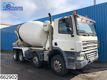 DAF 85 CF 380 8x4, Stetter, Beton / Concrete mixer, Manual, Steel suspension, 8 M3, Analoge tachograaf - бетономешалка