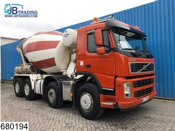 Volvo FM 380 8x4, Stetter, Beton / Concrete mixer, Manual, Airco, Steel suspension, 8 M3 - бетономешалка