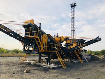 FABO MCK-65 MOBILE CRUSHING & SCREENING PLANT FOR GRANIT - дробилка