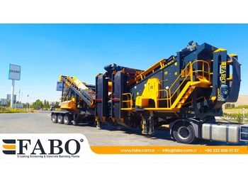 FABO MDMK-03 MOBILE SECONDARY IMPACT CRUSHER - дробилка