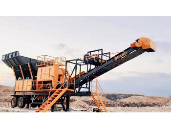 FABO MJK-90 SERIES 100-200 TPH MOBILE JAW CRUSHER PLANT - дробилка